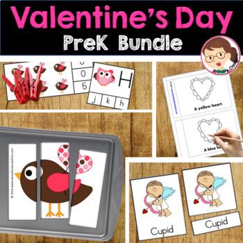 February PreK Activities