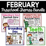 February Preschool Bundle