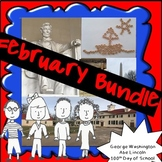 February President's Day and 100th Day of School Bundle!