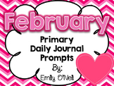 February Primary Daily Journal Prompts