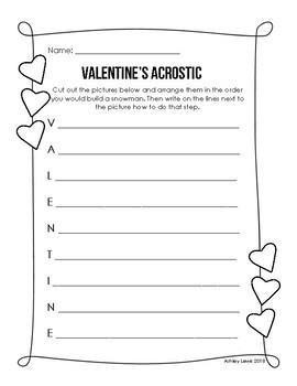February Print & Go Packet