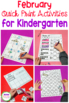February Print- That's It! Kindergarten Math and Literacy