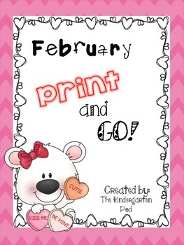 February Print-and-GO! Activities