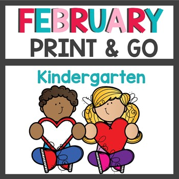 February No Prep Print and Go Activities