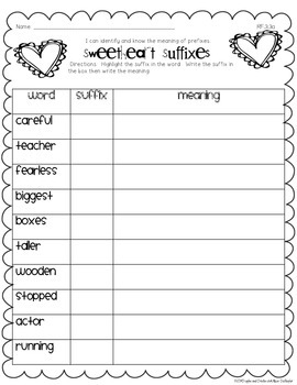 February Print and Practice {Common Core Aligned}