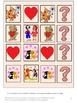 Valentine's Day Math & Literacy File Folder Games Autism Special Education