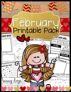 February Printable Pack