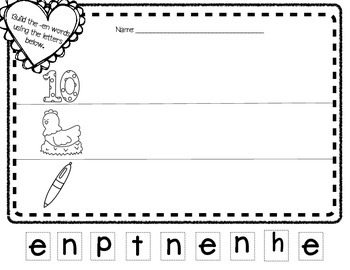 February Literacy and Math No Prep Printables!