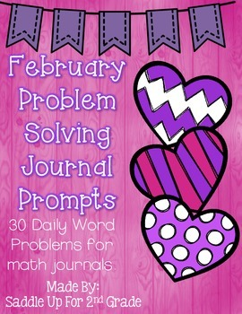 February Problem Solving Journal Prompts