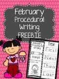 February Procedural Writing