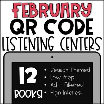 ♥ February QR Code Listening Center ♥