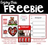 February QR Code Listening Center Freebie