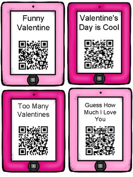 February QR Code Read Aloud Listening Centers