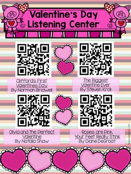 February QR Codes Listening Center Bundle
