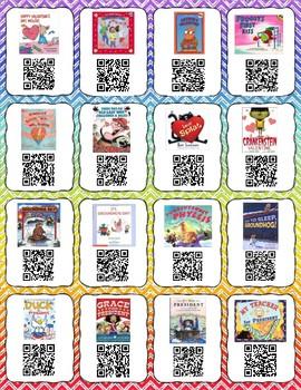 February QR codes for listening center