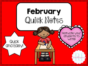 February Quick Notes