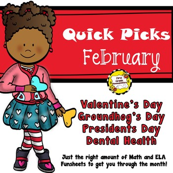 February Quick Picks: Budget-Friendly ELA and Math Funsheets