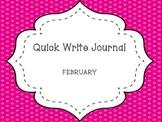 February Quick Write Journal