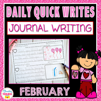 February Quick Writes (Daily Journal Writing Prompts)