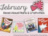February Read Aloud Plans and Craftivities