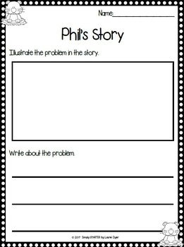 February Read and Respond:  Emergent Readers and Comprehension Response Pages