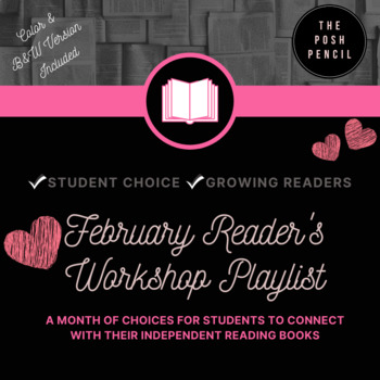 February Reader's Workshop Playlist