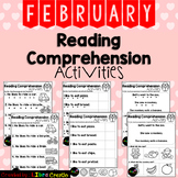 February Reading Comprehension Activities