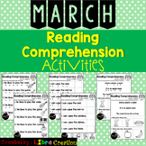 March Reading Comprehension Activities