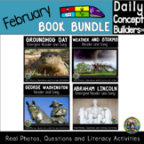 February Reading Comprehension Bundle    Readers with Real