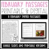 Leveled Text: February Reading Passages