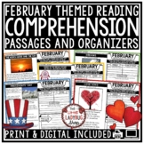 February Reading Comprehension Passages 4th Grade, 3rd Gra