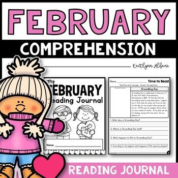 February Reading Comprehension Passages - Journal