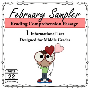 February Reading Comprehension Sampler