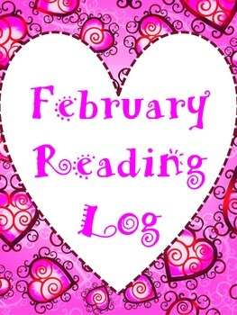 February Reading Log with Discussion Starters