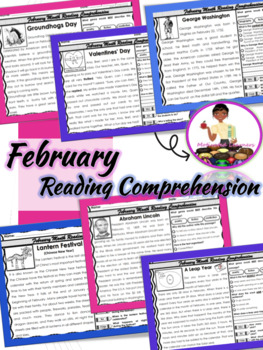 February Reading Passages (Close Reading) Text Evidence