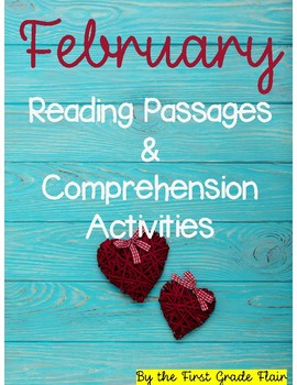 February Reading Passages (Common Core Aligned)