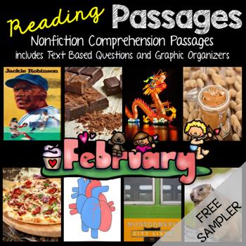 February Reading Passages - Freebie Sampler (Groundhogs)