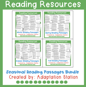 February Reading Passages-No Prep