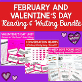 February Reading and Writing Resources Bundle for Middle &