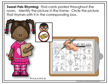 February Rhyming Word Work Write The Room Fun