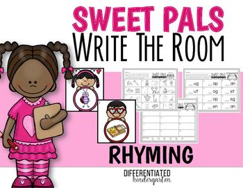 February Rhyming Word Work Write The Room Fun