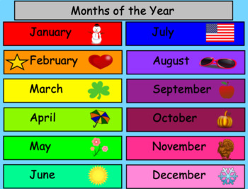 February SMART Board Calendar Math for Kindergarten