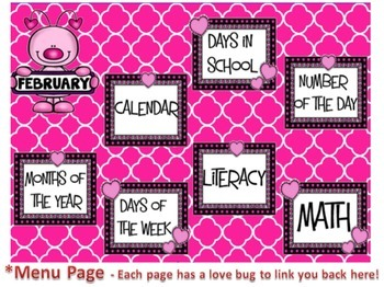 February SMARTboard Morning Meeting and Much More!