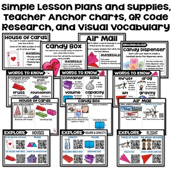 Valentine's Day STEM / Valentine STEM Challenges (February)