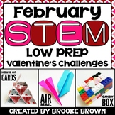 Valentine's Day STEM / Valentine STEM Challenges (February)
