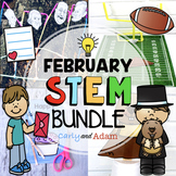February STEM Activities BUNDLE