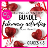 February Technology & STEM Activities | Valentines Day STE