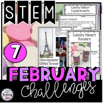 Valentine's Day STEM Challenges