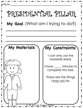 February STEM STEAM Challenge: President's Day Edition