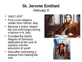 February Saint of the Day